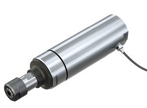 Broche pneumatique avec capteur de vitesse ebm 5200 s st mannesmann demag