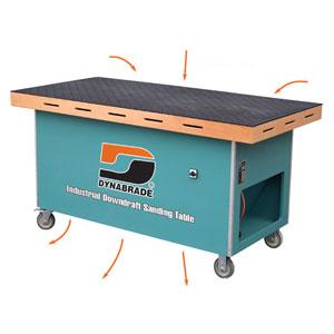Table de ponçage aspirante dynabrade 64202