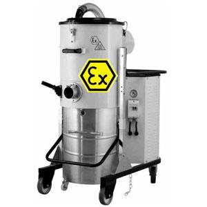 Aspirateurs industriels athmosphère explosive ATEX