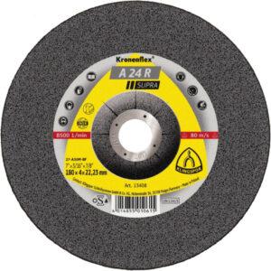 Meules à ébarber Kronenflex® pour Meuleuse d'angle a24extra klingspor