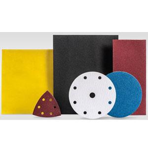 Feuilles coupées et disques abrasifs