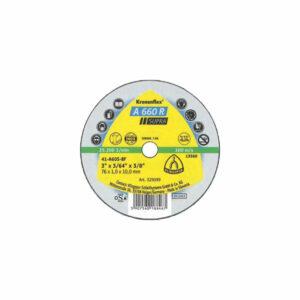 Petits disques à tronçonner pour Acier / Acier inoxydable A 660 SUPRA klingspor